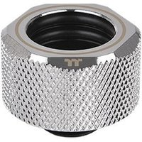 ThermalTake Pacific C-Pro G1/4 PETG 16mm OD Compression Fitting - Chrome