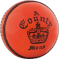Image of Readers County Crown Cricket Ball Orange - Mens