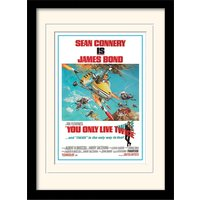 James Bond - You Only Live Twice one-sheet Mounted & Framed 30 x 40cm Print