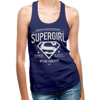 Supergirl Better Than Ever Women's Large Vest Top