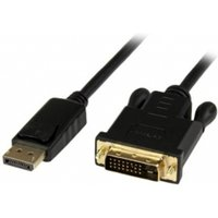 6 ft DisplayPort to DVI Active Adapter Converter Cable   DP to DVI 1920x1200   Black