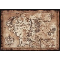 Lord Of The Ring - Map Maxi Poster