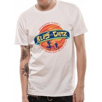 Rick And Morty - Blips And Chitz Men's X-Large T-Shirt - White