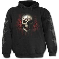 Game Over Men's Small Hoodie - Black