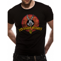 Looney Tunes - Logo Men's Small T-Shirt - Black