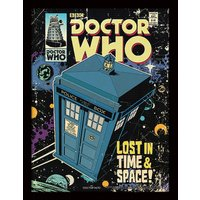 Doctor Who - Lost In Time And Space Framed 30 x 40cm Print