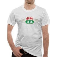 Friends - Central Perk Men's Large T-Shirt - White