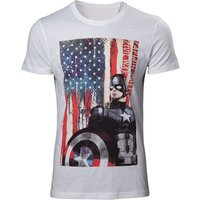 Marvel Comcis Captain America: Civil War Stars and Stripes X-Large T-Shirt