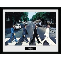 The Beatles Abbey Road Framed 16x12 Photographic Print