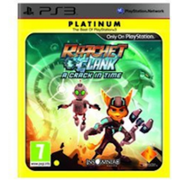 Ratchet & Clank A Crack In Time Game (Platinum)