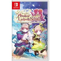 Atelier Lydie & Suelle The Alchemists And The Mysterious Paintings Nintendo Switch Game