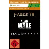 Halo Reach + Alan Wake + Fable 3 (Download Full Game Code)