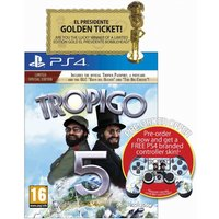 Tropico 5 Limited Edition PS4 Game (with pre-order Controller Skin)