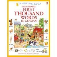First Thousand Words in German by Heather Amery (Paperback, 2014)