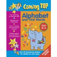 Coming Top: Alphabet and First Words - Ages 4 - 5