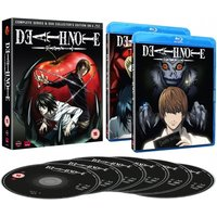 Death Note: Complete Series And Ova Collection Blu-ray