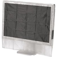 Hama Monitor Dust Cover, 24/26, transparent