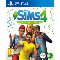 The Sims 4 Deluxe Party Edition PS4 Game