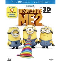 Despicable Me 2 Blu-ray 3D + Blu-ray