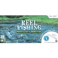 'Reel Fishing Anglers Dream Pro Fishing Rod Wii [rod Only]