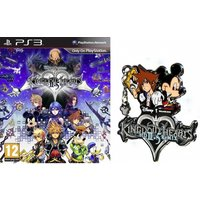 Kingdom Hearts II 2.5 HD Remix PS3 Game + Kingdom Hearts Pin Badge