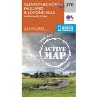 Glenrothes North, Falkland and Lomond Hills by Ordnance Survey (Sheet map, folded, 2015)