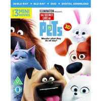 The Secret Life Of Pets (Blu-ray 3D Blu-ray DVD Digital Download)