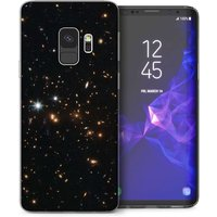 CASEFLEX SAMSUNG GALAXY S9 BLACK SPACE CASE / COVER (3D)