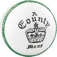 Readers County Crown Cricket Ball White - Youths