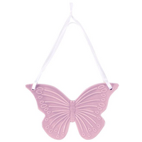 Lilac Ceramic Butterfly Hanging Decoration