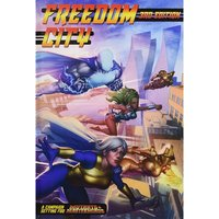 Mutants and Masterminds RPG Freedom City Campaign City