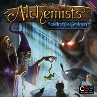 Alchemists The Kings Golem Expansion Board Game