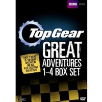 Top Gear - The Great Adventures 1-4 DVD