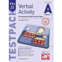 11+ Verbal Activity Year 5-7 Testpack A Papers 1-4 : GL Assessment Style Practice Papers