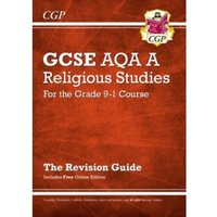 New Grade 9-1 GCSE Religious Studies: AQA A Revision Guide with Online Edition by CGP Books (Paperback, 2017)