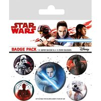 Star Wars The Last Jedi - Characters Badge Pack