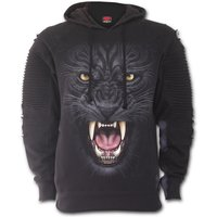 Triball Panther Premuim Biker Fashion Men's Medium Hoodie - Black