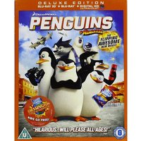 Penguins of Madagascar Blu-ray 3D + Blu-ray