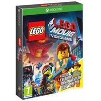 The LEGO Movie The Videogame with Western Emmett Mini Figure Game Xbox One