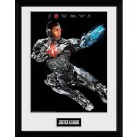 Justice League Movie Cyborg Framed Collector Print