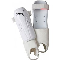 Puma Pro Training II Shin & Ankle Guards Small White/Black