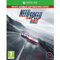 Need for Speed Rivals Limited Edition (Ultimate Cop Pack DLC) Game Xbox One