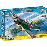 Cobi Small Army Mitsubishi A6M3 Zero Fighter Aircraft 265 Toy Building Bricks