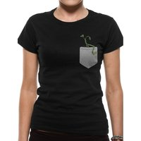 Crimes Of Grindelwald - Pickett In My Pocket Women's Small T-Shirt - Black