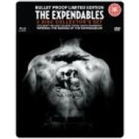 The Expendables Steel Tin Collector's Edition Blu-ray & DVD