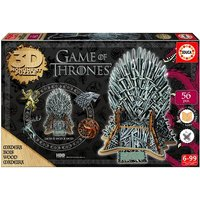 Game Of Thrones Iron Throne 3D Monument Jigsaw Puzzle