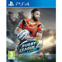 Rugby League Live 4 PS4 Game