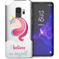 CASEFLEX SAMSUNG GALAXY S9 I BELIEVE IN MYSELF CASE / COVER (3D)