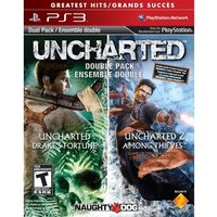Ex-Display Uncharted Drakes Fortune & Uncharted 2 Among Thieves Game (Greatest Hits)