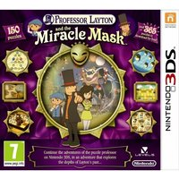 Ex-Display Professor Layton And The Mask Of Miracle Game 3DS